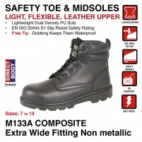 M133A COMPOSITE Extra Wide Fitting Non Metallic